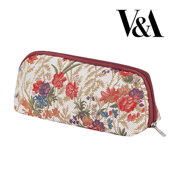 2021 S/S (New Arrival) Flower Meadow Makeup Brush Bag | Floral Cosmetic Pouch | BRUBG-FLMD
