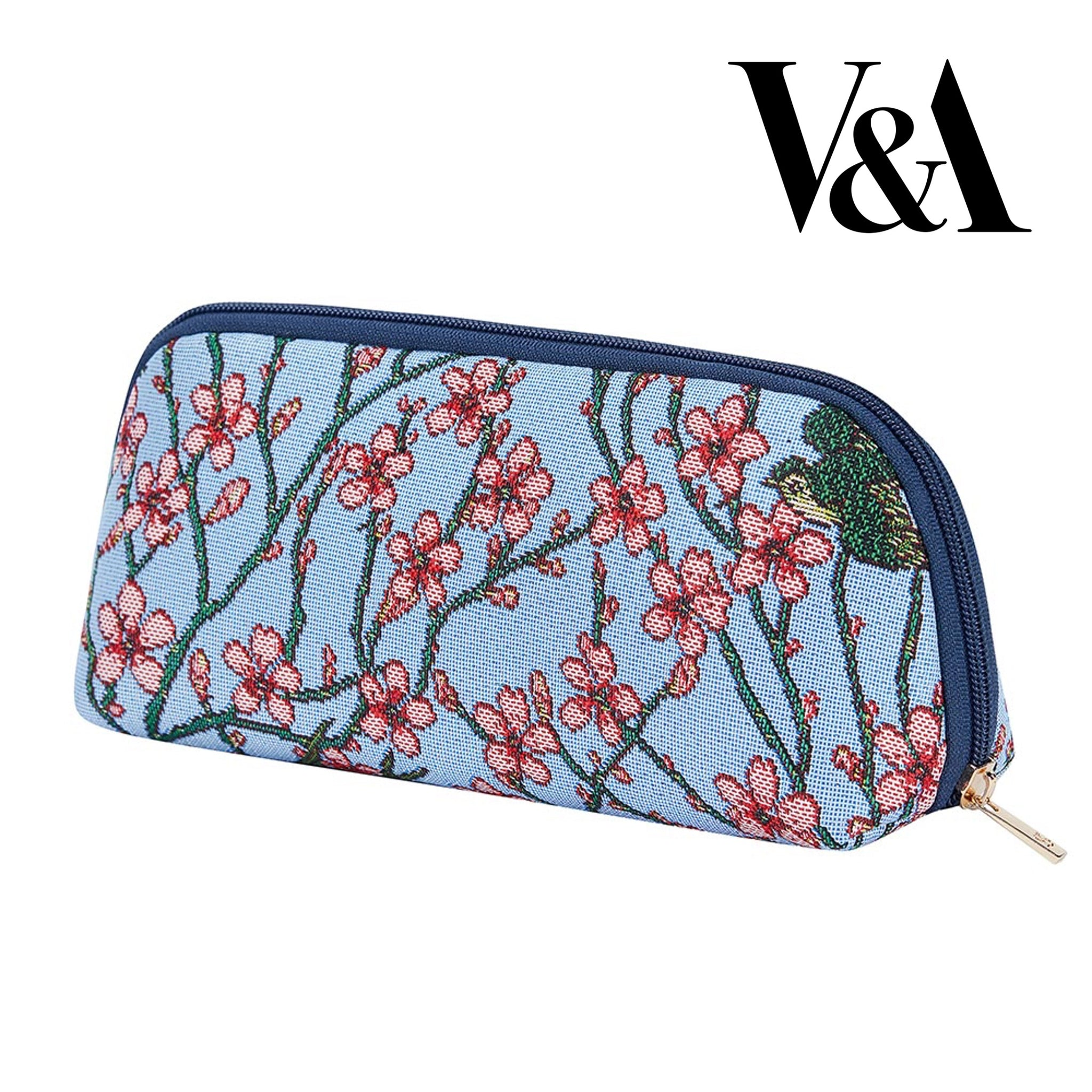 2021 S/S (New Arrival) Almond Blossom and Swallow Makeup Brush Bag | BRUBG-BLOS