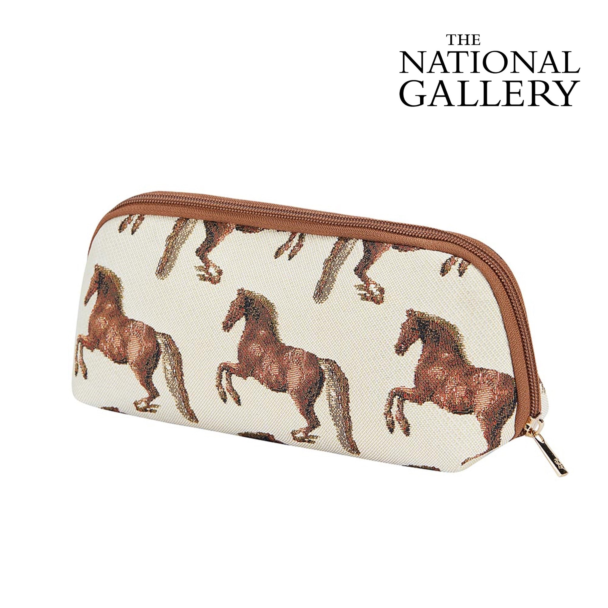2021 S/S (New Arrival) Whistle Jacket Makeup Brush Bag | Horse Cosmetic Pouch | BRUBG-WHISTLE
