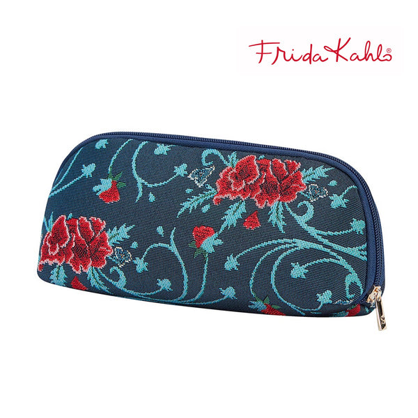 2021 S/S (New Arrival) Frida Kahlo Carnation Makeup Brush Bag | Cosmetic Pouch | BRUBG-FKCARN