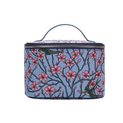 Almond Blossom and Swallow Makeup Bag | Tapestry Women's Makeup Case | TOIL-BLOS