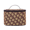 Austen Jane's Oak Makeup Bag | Floral Design Cosmetics Eye Makeup Beauty Bag | TOIL-JANE