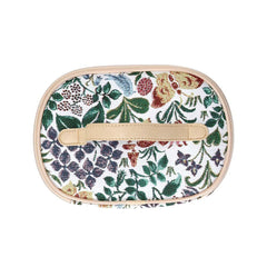 Spring Flowers Makeup Bag | Womens Floral Makeup Case | TOIL-SPFL