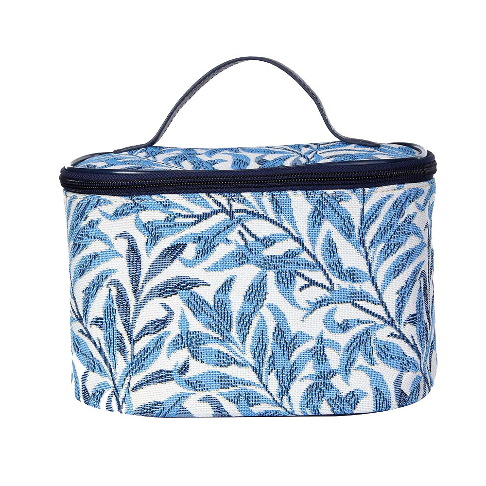 William Morris Willow Bough Makeup Bag | Blue Women's Makeup Bag | TOIL-WIOW