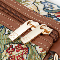 William Morris Golden Lily Travel Bag | Small Ladies Hand Luggage | TRAV-GLILY