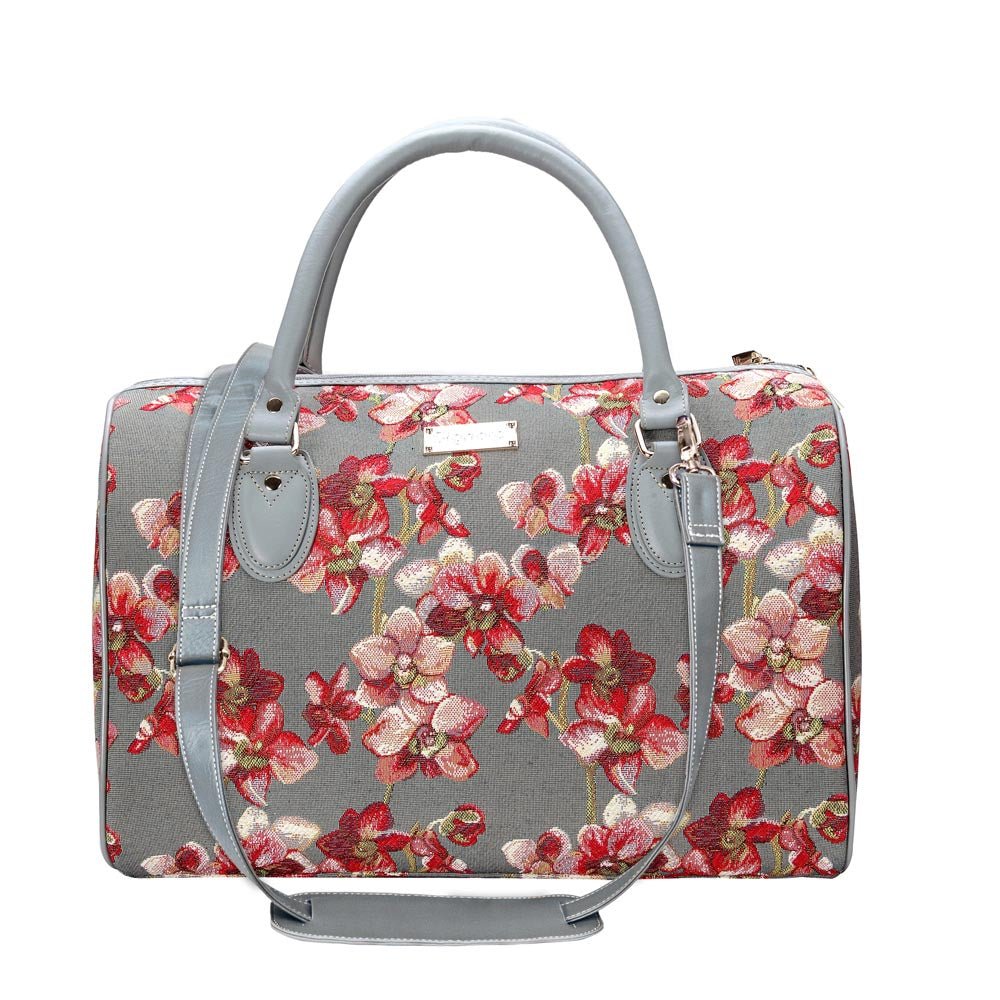 Orchid Travel Bag | Ladies Lightweight Overnight Bag | TRAV-ORC