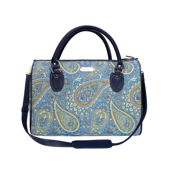 Paisley Travel Bag | Floral Travel Trip Overnight Weekend Luggage | TRAV-PAIS