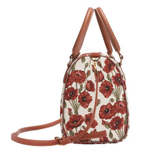 Poppy Travel Bag | Floral Tapestry Womens Travel Luggage | TRAV-POP