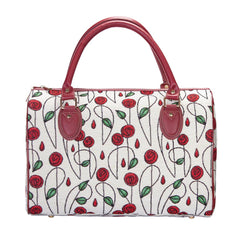 Mackintosh Rose Travel Bag | Small Ladies Overnight Bag | TRAV-RMSP