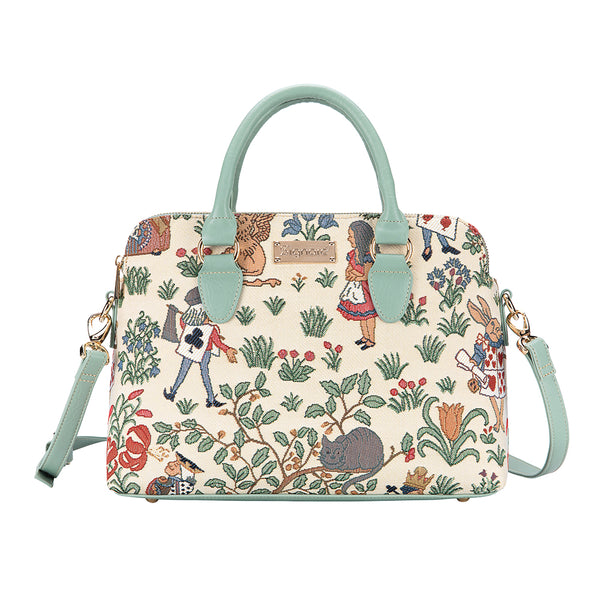 Alice in Wonderland Triple Compartment Bag | TRIP-ALICE