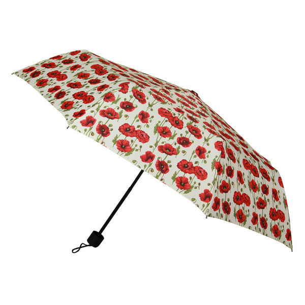 UM-SHFO-POP | POPPY  FOLDING HOOK UMBRELLA