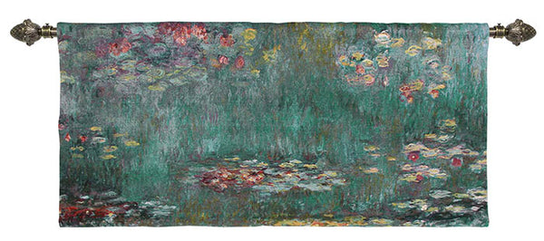 monet water lily good quality tapestry