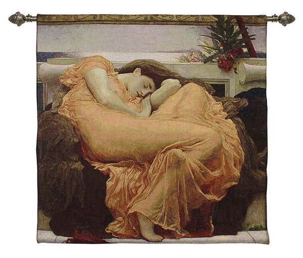 Wall Hanging-Sir Fredrick Leighton-Flaming June | Home decor, Wall art 100x100cm | WH-FL-FLAM