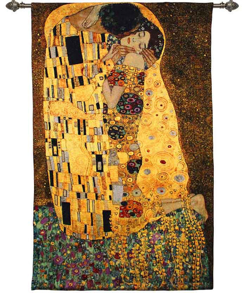 Wall Hanging-Klimt-The Kiss | Home decor, Wall art 90x138cm | WH-GK-KS