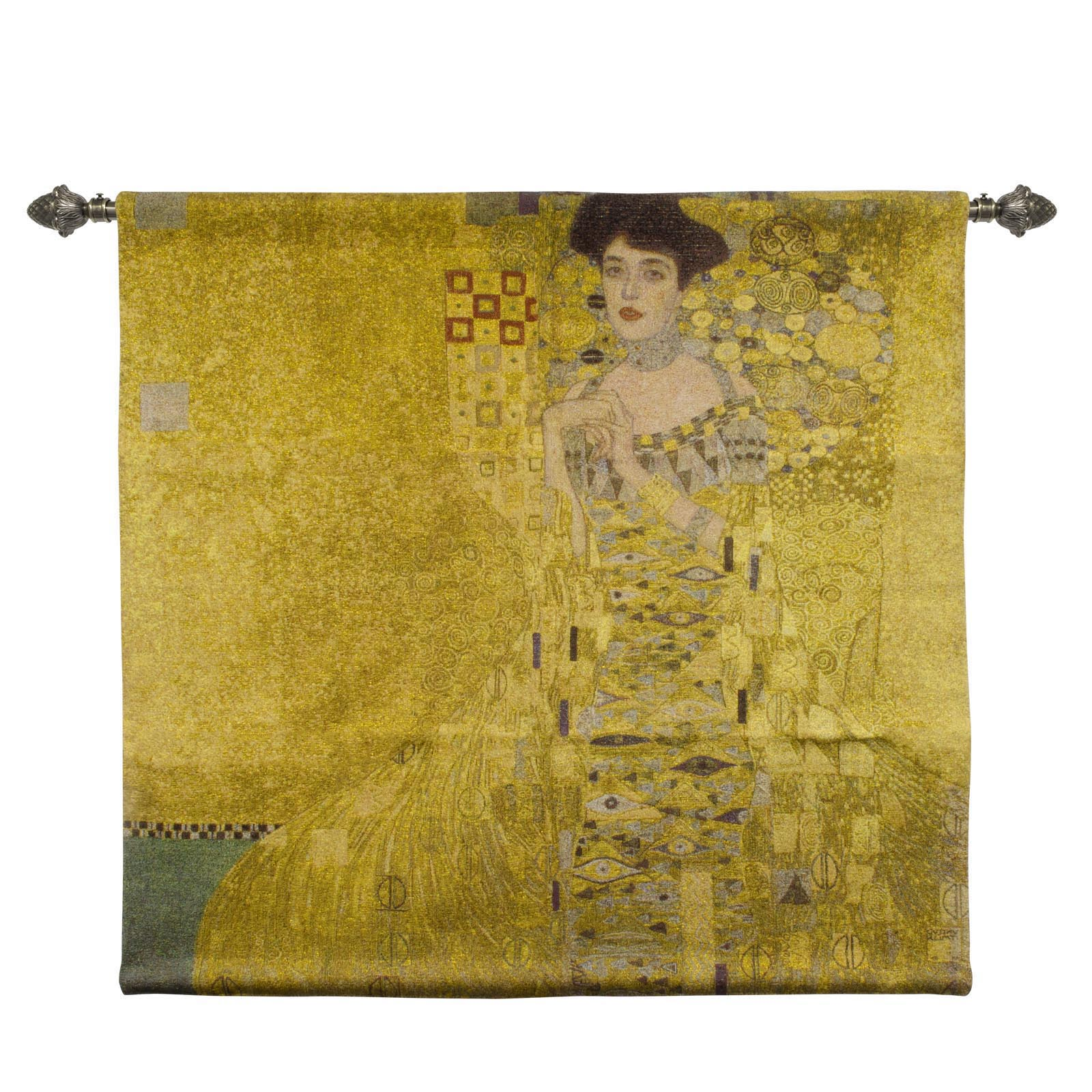 Wall Hanging-Klimt Woman in Gold | Home Decor, Wall Art Approx 100 x 100cm | WH-GK-WGD