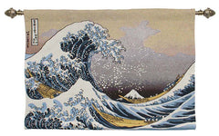 The Great Wave of Kanagawa Good Quality Tapestry