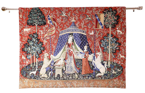 Wall Hanging-Lady & Unicorn A Mon Seul Desir | Home decor, Wall art - 2 sizes | WH-LU-DE