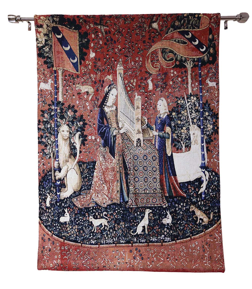 Sense of hearing design good quality tapestry