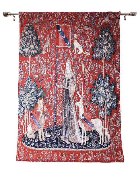 Wall Hanging-Lady & Unicorn Sense of Touch | Home decor, Wall art - 2 sizes | WH-LU-TO