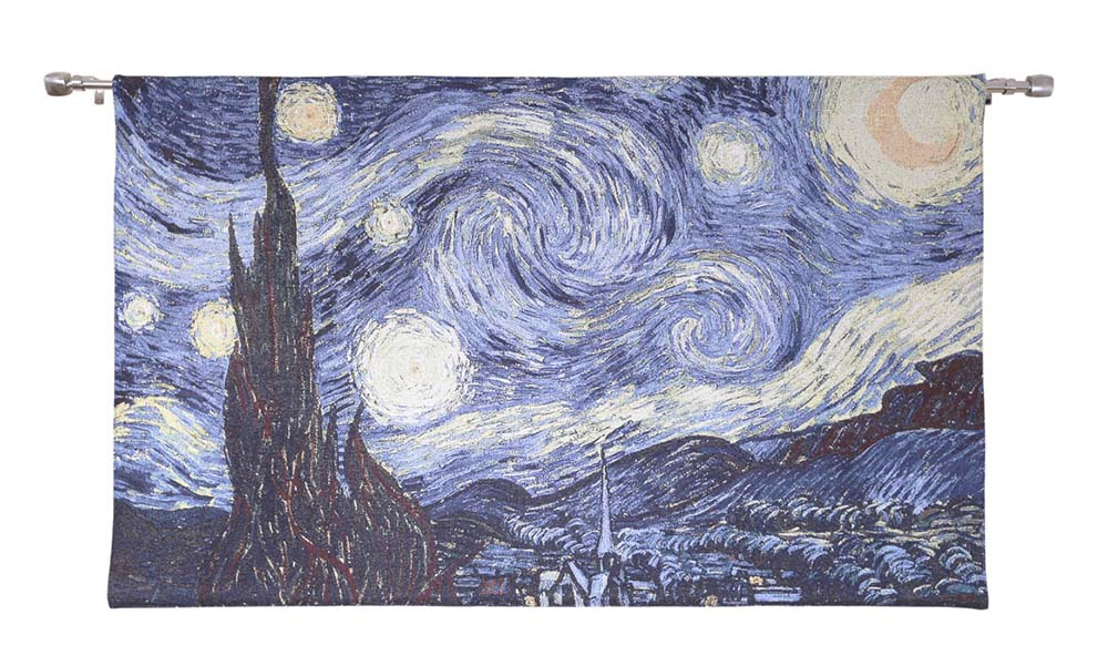 Wall Hanging-Van Gogh The Starry Night | Home Decor, Wall Art -Available in Two Sizes | WH-VG-SN