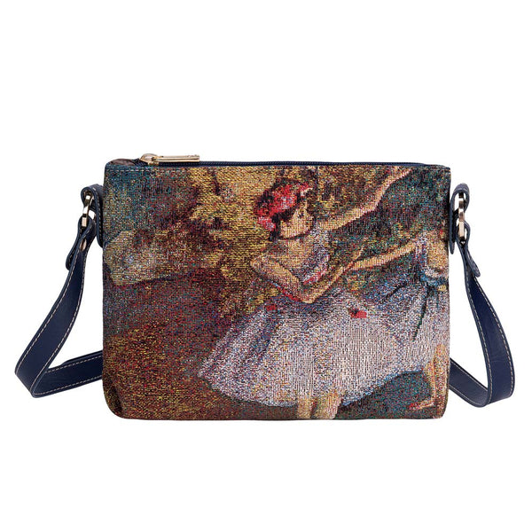 Edgar Degas Ballerina Cross Body Bag | Shoulder Strap Bag | XB02-ART-ED-BLR-2