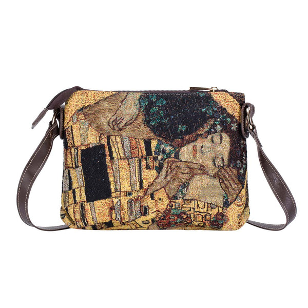 Gold Kiss Cross Body Bag | Ladies Crossbody Shoulder Bags | XB02-ART-GK-GDKS