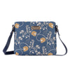 Jane Austen Blue Cross Body Bag | Oak Flower Tapestry Shoulder Bags | XB02-AUST