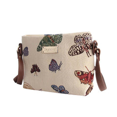 Butterfly Crossbody Bag | Stylish Tapestry Crossbody Shoulder Bag | XB02-BUTT