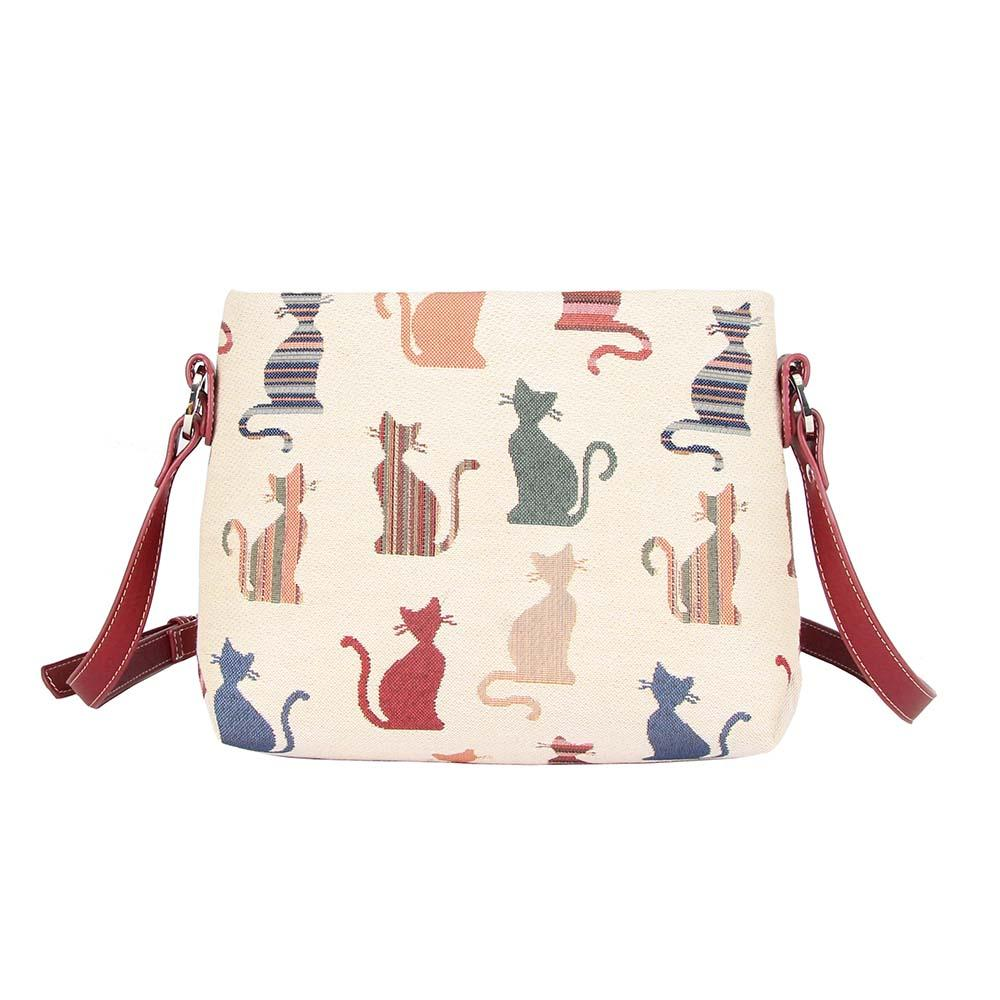 Cheeky Cat Crossbody Bag | Cute Crossbody Shoulder Bag | XB02-CHEKY
