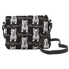 Westie Cross Body Bag | Highland Terrier Shoulder Strap Tapestry Handbag | XB02-WES