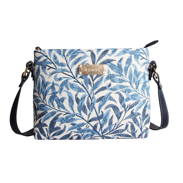 William Morris Willow Bough Cross Body Bag | Floral Tapestry Art Shoulder Bag | XB02-WIOW