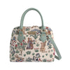 Alice in Wonderland Top-Handle Shoulder Bag | Tapestry Ladies Shoulder Bag | CONV-ALICE
