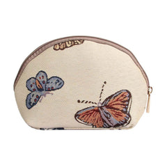 Butterfly Cosmetic Bag | Stylish Tapestry Makeup Case | COSM-BUTT