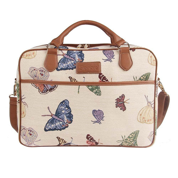 Butterfly Computer Bag | Tapestry Laptop Bag/Case 15.6 inch | CPU-BUTT