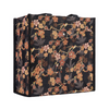 Ume Sakura Shopper Bag | Floral Black Foldable Tote | SHOP-SAKURA