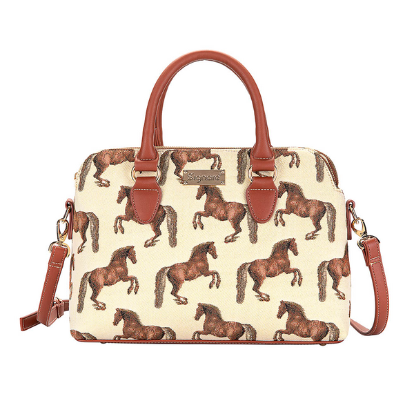 Whistlejacket Triple Compartment Bag | Horse Design Tapestry Bag | TRIP-WHISTLE