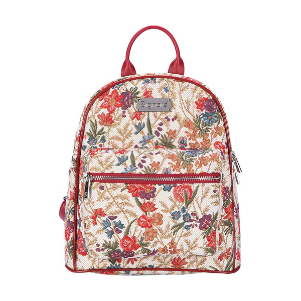 Flower Meadow Daypack | Floral Small Backpack | DAPK-FLMD
