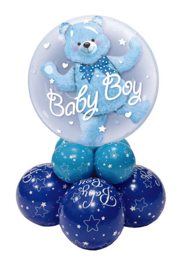 BABY BOY BOUQUETS & DECOR