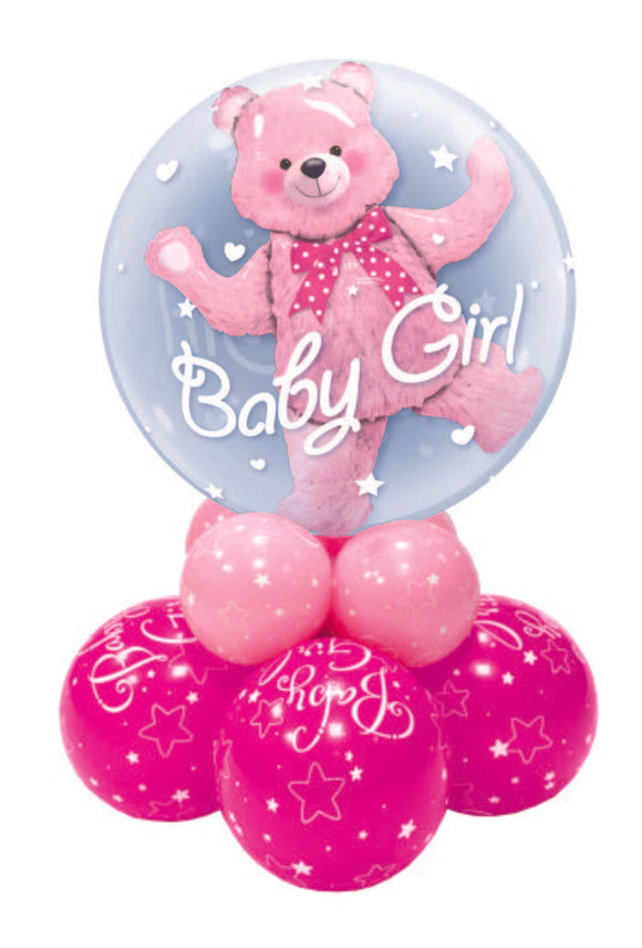 BABY GIRL BOUQUETS & DECOR