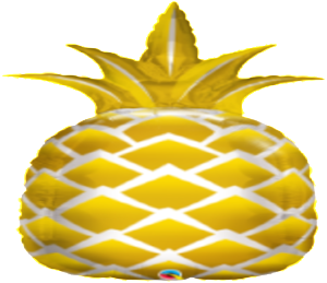Golden Pineapple Foil