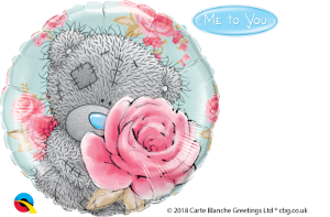 Me to You – Tatty Teddy Birthday Roses Foil