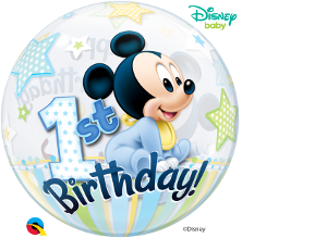 Happy 1st Birthday Mickey Mouse