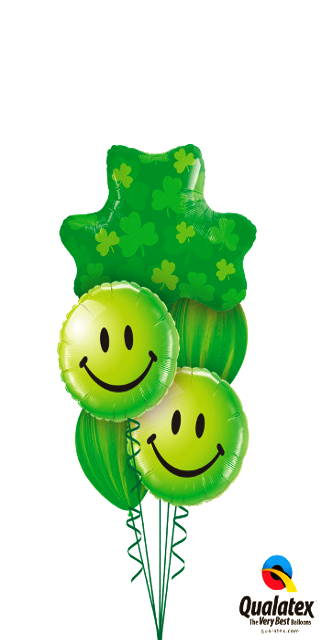 St Patty Smiles (1Large,2 Foil, 2 Latex)