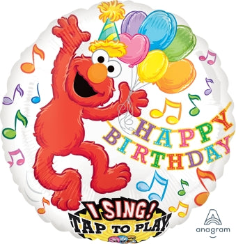 Elmo Happy Birthday Singing Balloon