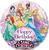 Princess Happy Birthday Singing Balloon