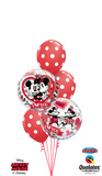 Mickey & Minnie Polka Dots ( 2 Bubbles, 3 Latex)