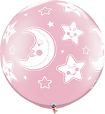 Baby Moon & Stars Around