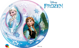 Anna and Elsa Bubble