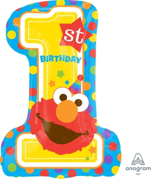 1ST Birthday Elmo