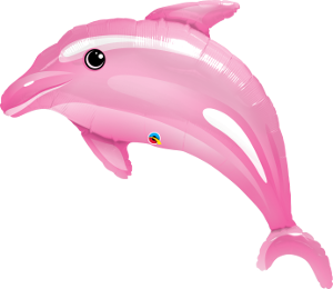 Delightful Pink Dolphin Supershape